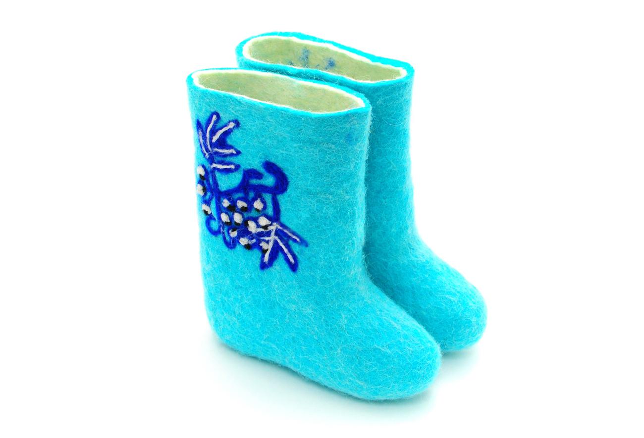 321a4ae01a962f Купить Детские валенки «Узоры» в магазине Линайф. Цена 1450 рублей ...